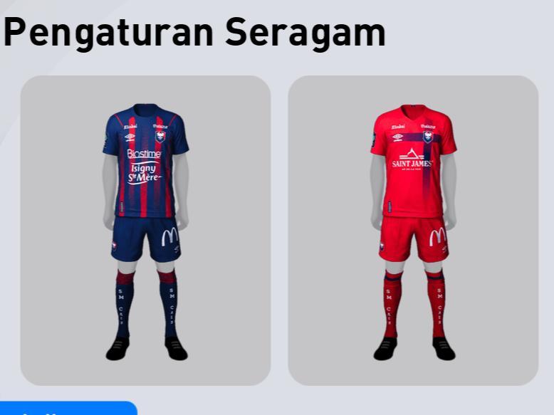 jersey terbaik efootball pes 2021