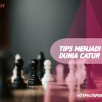 10 Tips Menjadi Juara Dunia Catur Dari Magnus Carlsen
