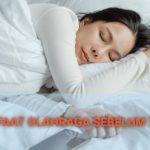 7 Manfaat Berolahraga Sebelum Tidur Malam Hari