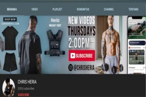 rekomendasi channel youtube fitness luar negeri