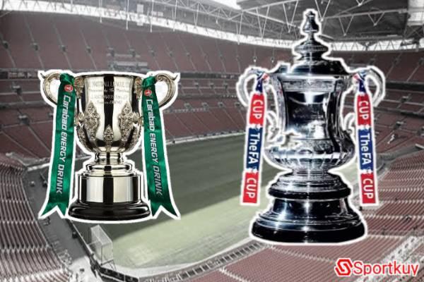 kompetisi sistem gugur yang ada di sepakbola inggris